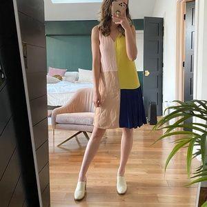 Funky Anthropologie Color block dress